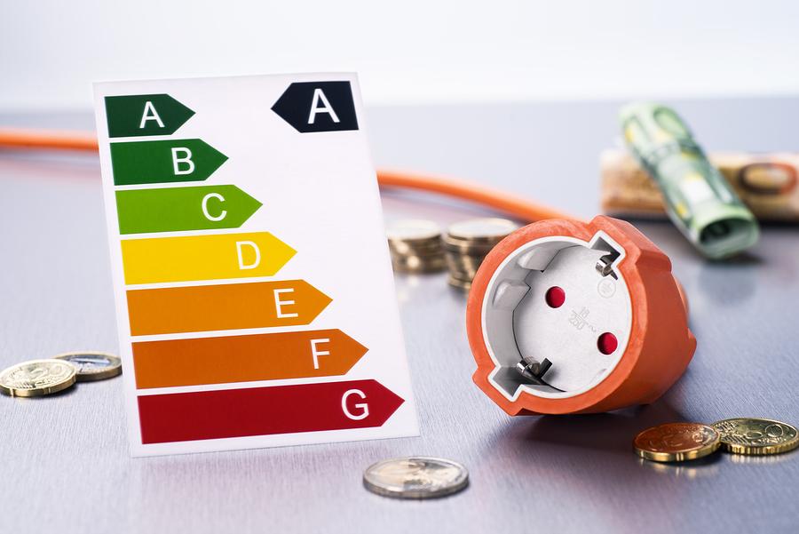 Energieklassen für Elektrogeräte